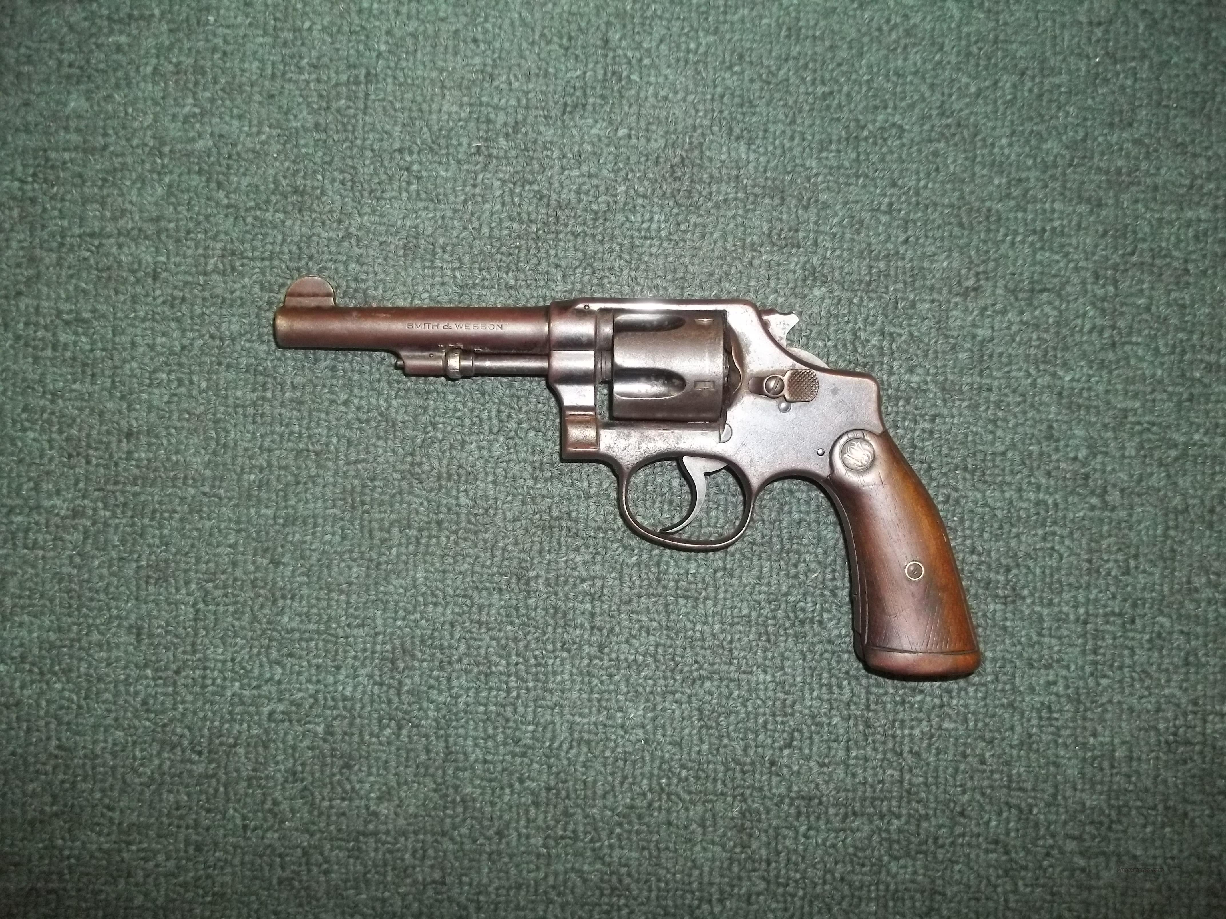 Smith & Wesson Regulation Police  Guns > Pistols > Smith & Wesson Revolvers > Pre-1945