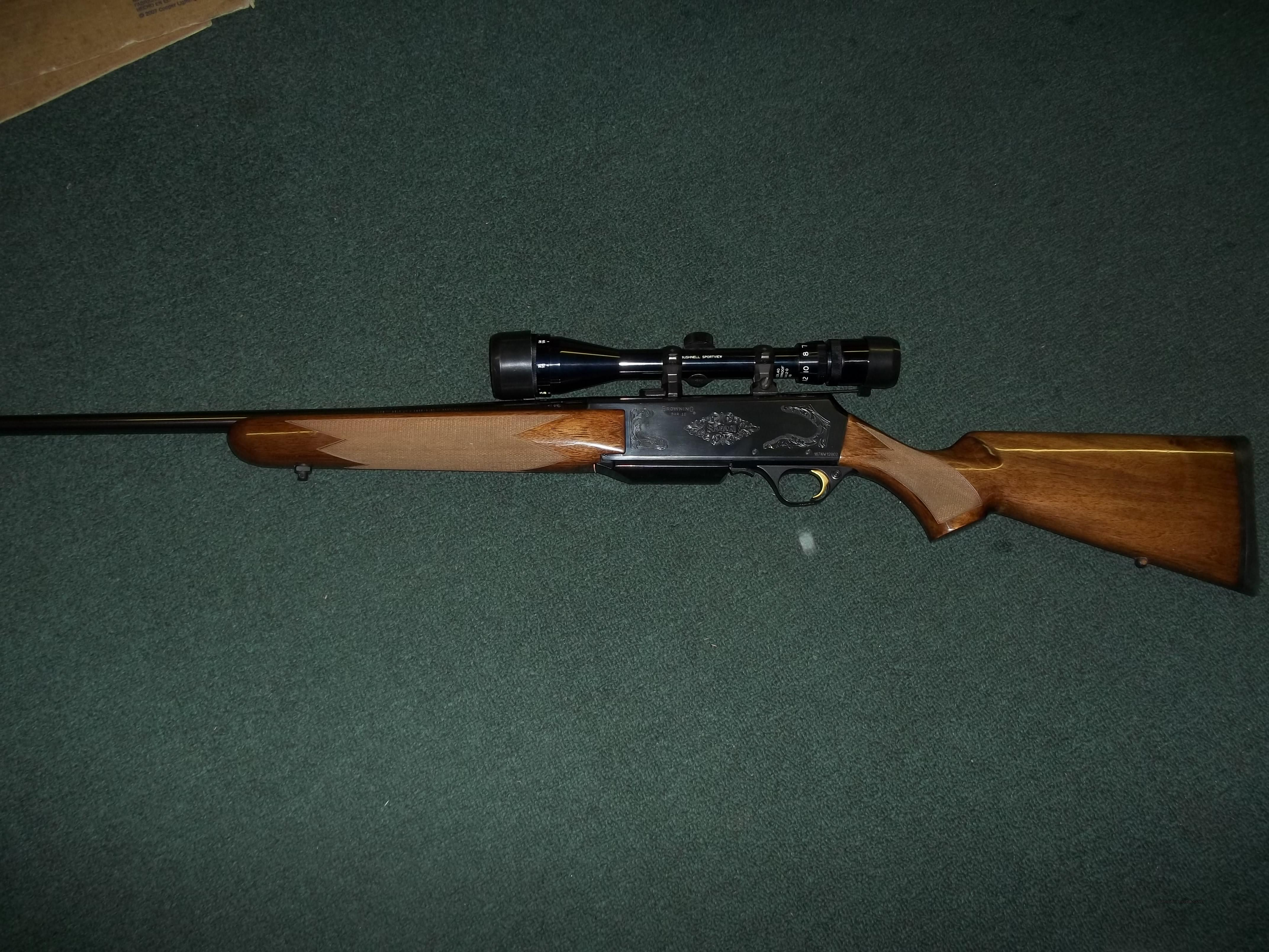Browning BAR Mark II Safari 7mm Magnum   Guns > Rifles > Browning Rifles > Semi Auto > Hunting