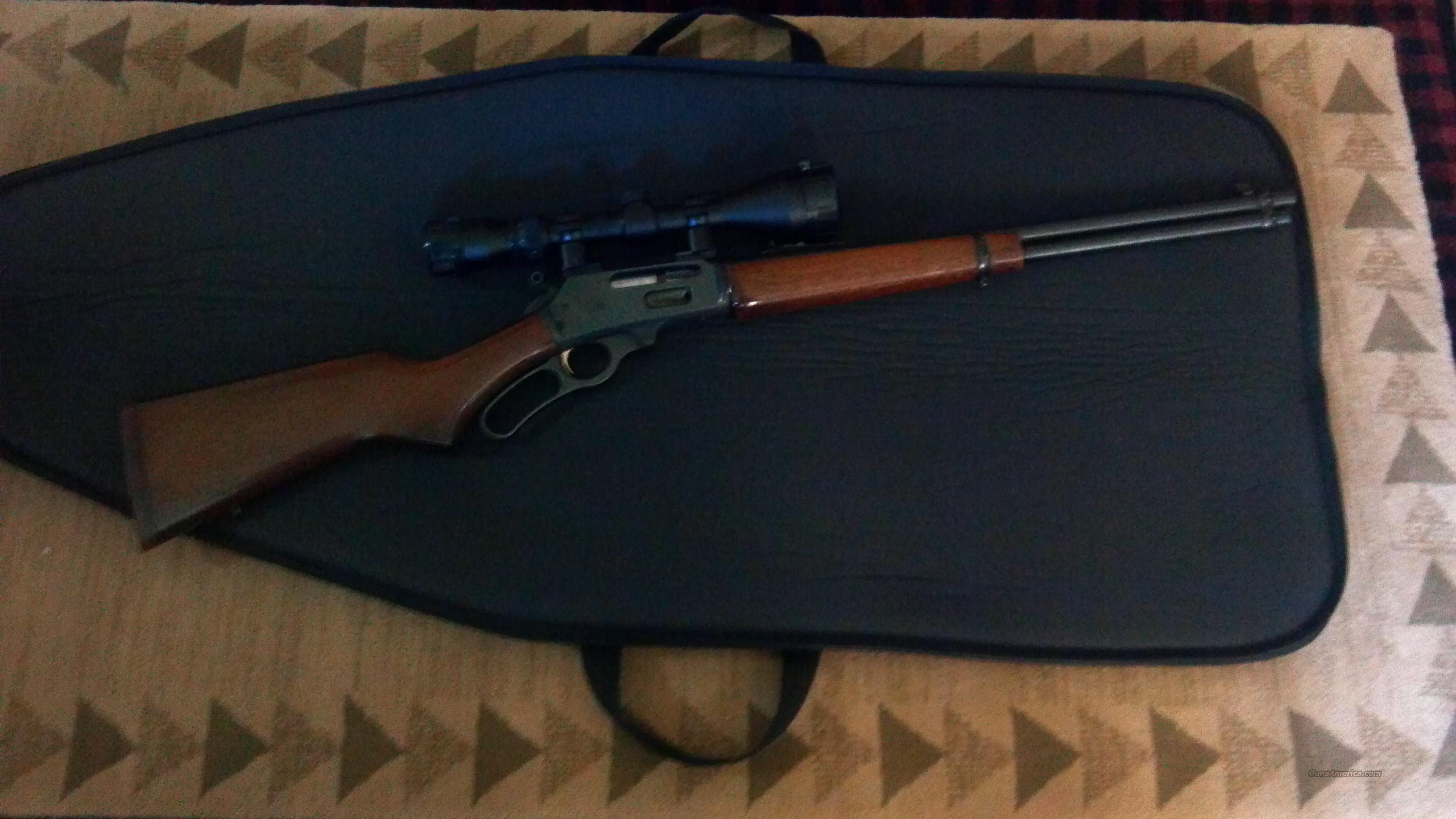 MARLIN LEVER ACTION 30-30 WITH 3X 9X 50 SCOPE  Guns > Rifles > Marlin Rifles > Modern > Lever Action