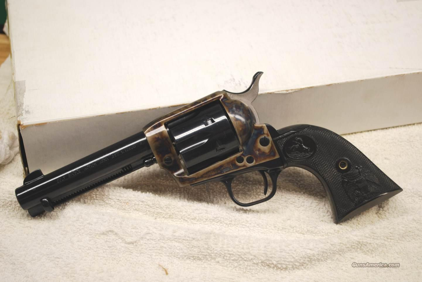 "Colt SAA .357 Magnum 4 3/4""  Guns > Pistols > Colt Single Action Revolvers - 3rd Gen."