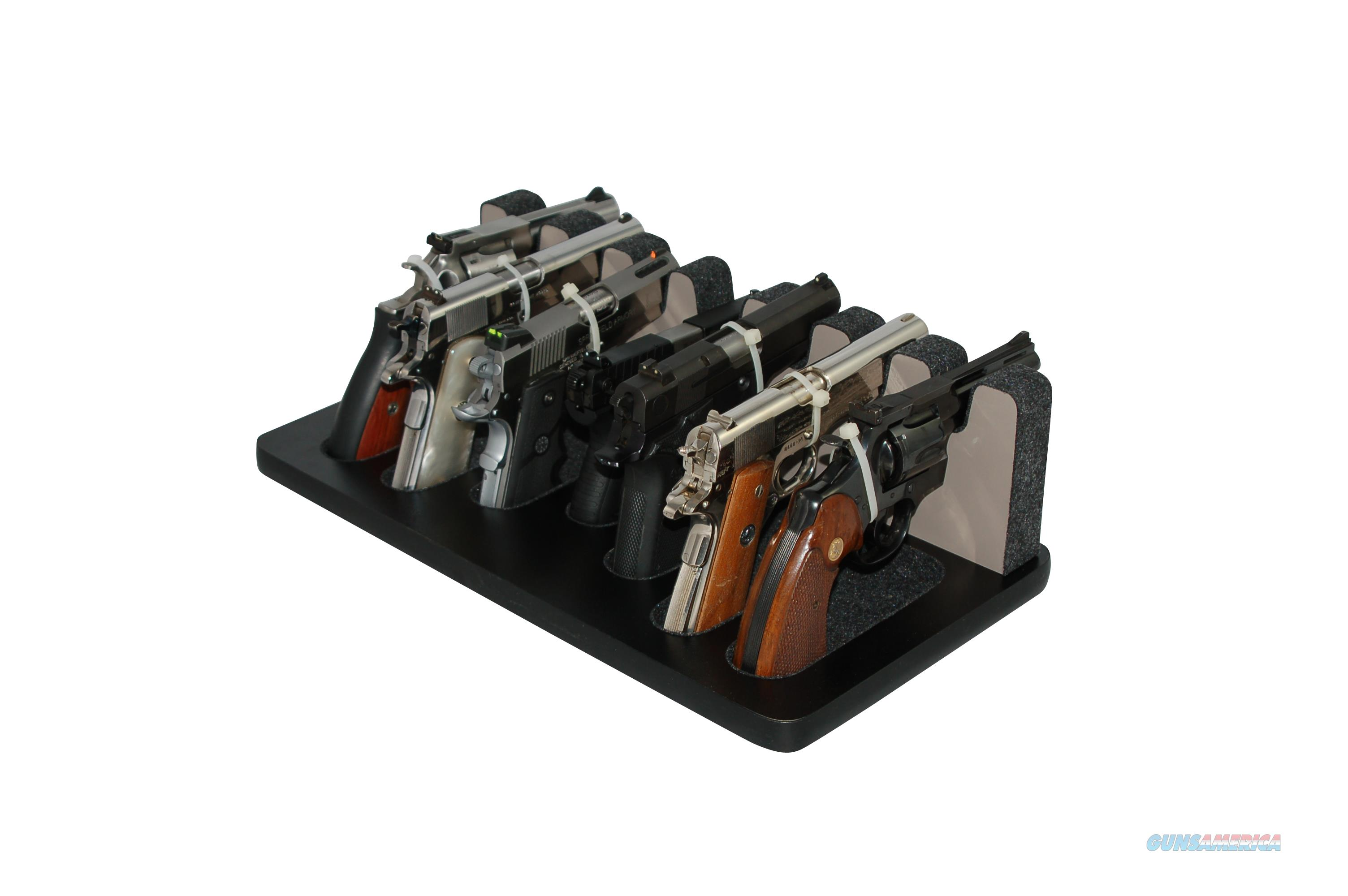 Creighton Gun Stand - 7 Slot Mixed Sizes   Non-Guns > Gun Displays/Racks