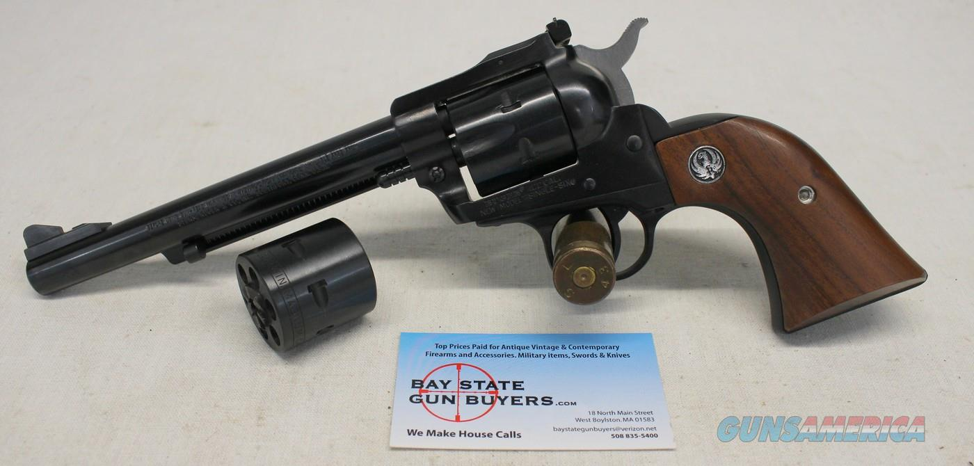 Ruger New Model SINGLE SIX CONVERTIBLE Single Action Revolver ~ .22 / .22 Win. Mag Calibers  Guns > Pistols > Ruger Single Action Revolvers > Single Six Type