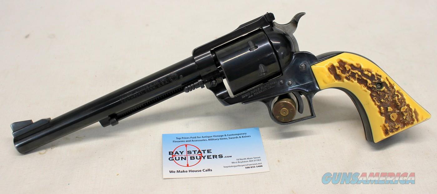 """Ruger Old Model SUPER BLACKHAWK """"3-Screw"""" revolver ~ .44 Magnum ~ 7 1/2"""" Barrel  Guns > Pistols > Ruger Single Action Revolvers > Blackhawk Type"""