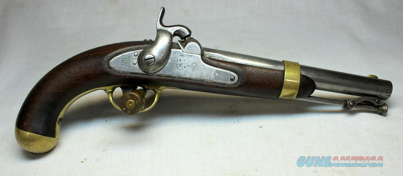 U.S. HASTON Model 1842 Percussion Pistol ~ .54 Cap & Ball ~ Antique Military Weapon  Guns > Pistols > Antique (Pre-1899) Pistols - Perc. Misc.