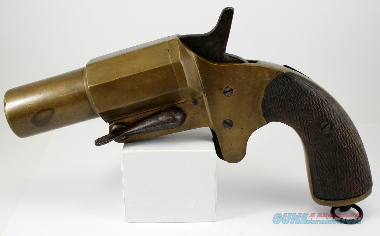 FRENCH WWI Model 1917 FLARE PISTOL / SIGNAL GUN (G.G. & Cie.)  Guns > Pistols > Antique (Pre-1899) Pistols - Perc. Misc.