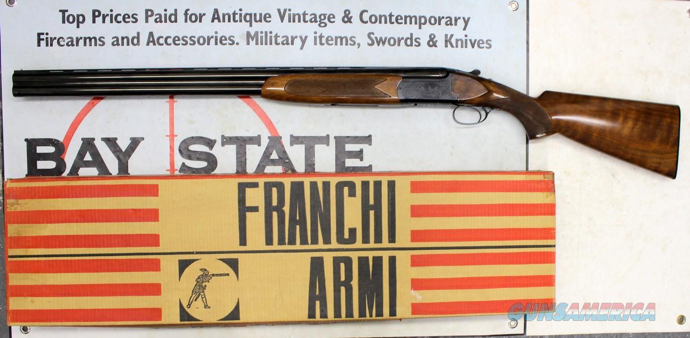 "Luigi Franchi FALCONET O/U Shotgun ~ 12Ga. ~ 28"" Barrels ~ FULL/MOD  Guns > Shotguns > Franchi Shotguns > Over/Under > Trap and Skeet"