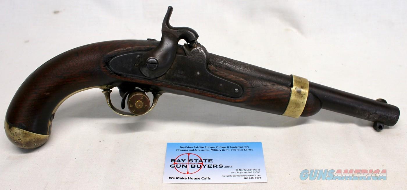 H. Aston U.S. Military MODEL 1842 Percussion Pistol ~ .54 Cal Cap & Ball   Guns > Pistols > Military Misc. Pistols US > Pre-1900
