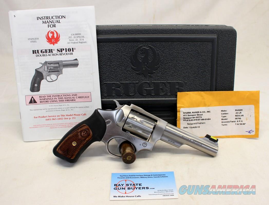 "Ruger SP101 Double Action Revolver ~ .22LR caliber ~ 4"" Barrel ~ Box & Manual  Guns > Pistols > Ruger Double Action Revolver > SP101 Type"