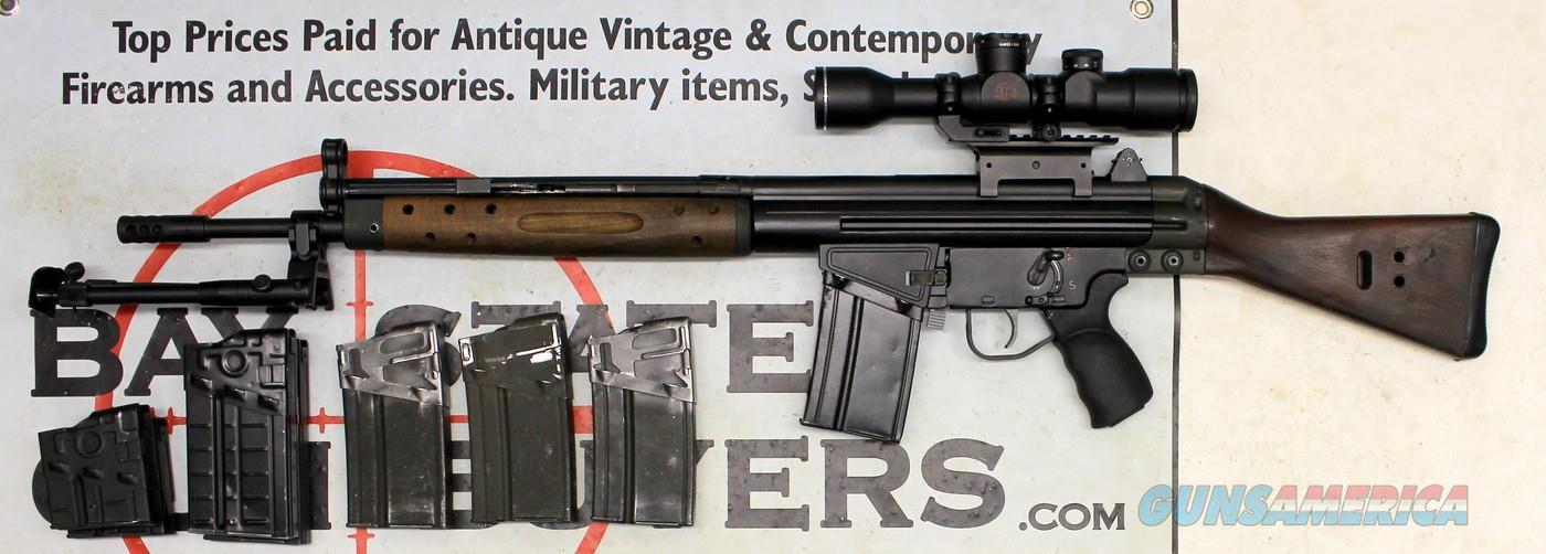 Century Arms CETME Semi-automatic Rifle ~ .308 Win ~ AT 5x33LU Daytime Scope ~ BI-POD ~ (8) Magazines  NO MA SALES  Guns > Rifles > CETME Rifles