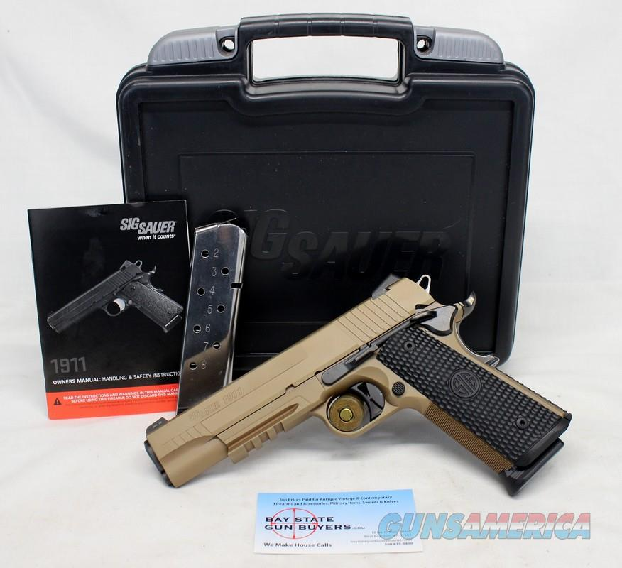 Sig Sauer EMPEROR SCORPION full size semi-automatic pistol ~ .45ACP ~ PVD Slide/Frame ~ BOX & MANUAL  Guns > Pistols > Sig - Sauer/Sigarms Pistols > 1911