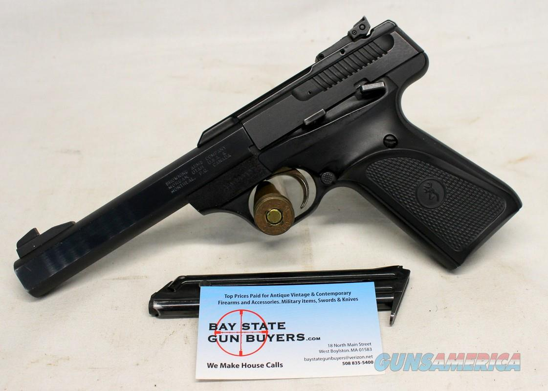 Browning Buck Mark semi-automatic pistol ~ .22LR ~ (2) Factory Magazines  Guns > Pistols > Browning Pistols > Buckmark