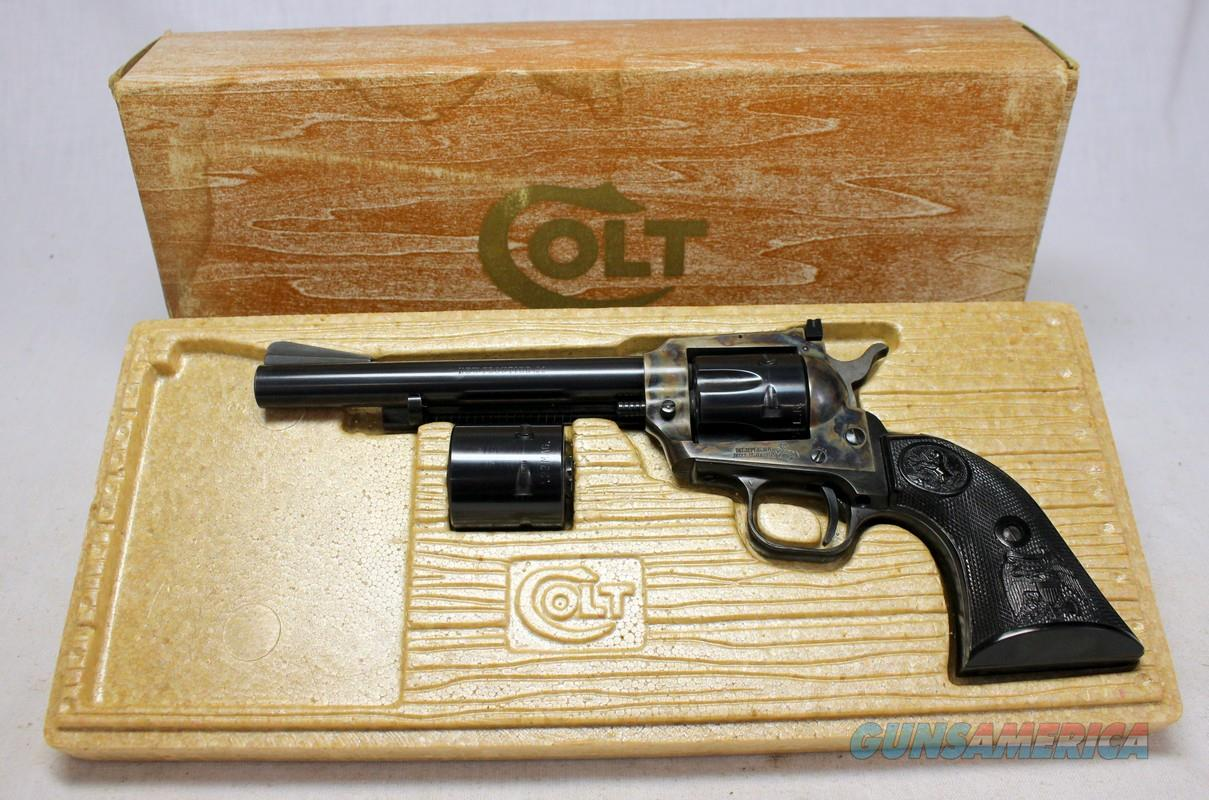 Colt New Frontier DUAL CYLINDER Single Action Army Revolver ~ .22LR / .22MAG ~  SAA in Original Box  Guns > Pistols > Colt Single Action Revolvers - Modern (22 Cal.)