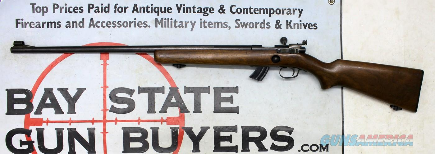 Winchester TARGET MODEL 69A bolt action rifle ~ .22 S, L & LR calibers ~ LYMAN Peep Sight  Guns > Rifles > Winchester Rifles - Modern Bolt/Auto/Single > Other Bolt Action