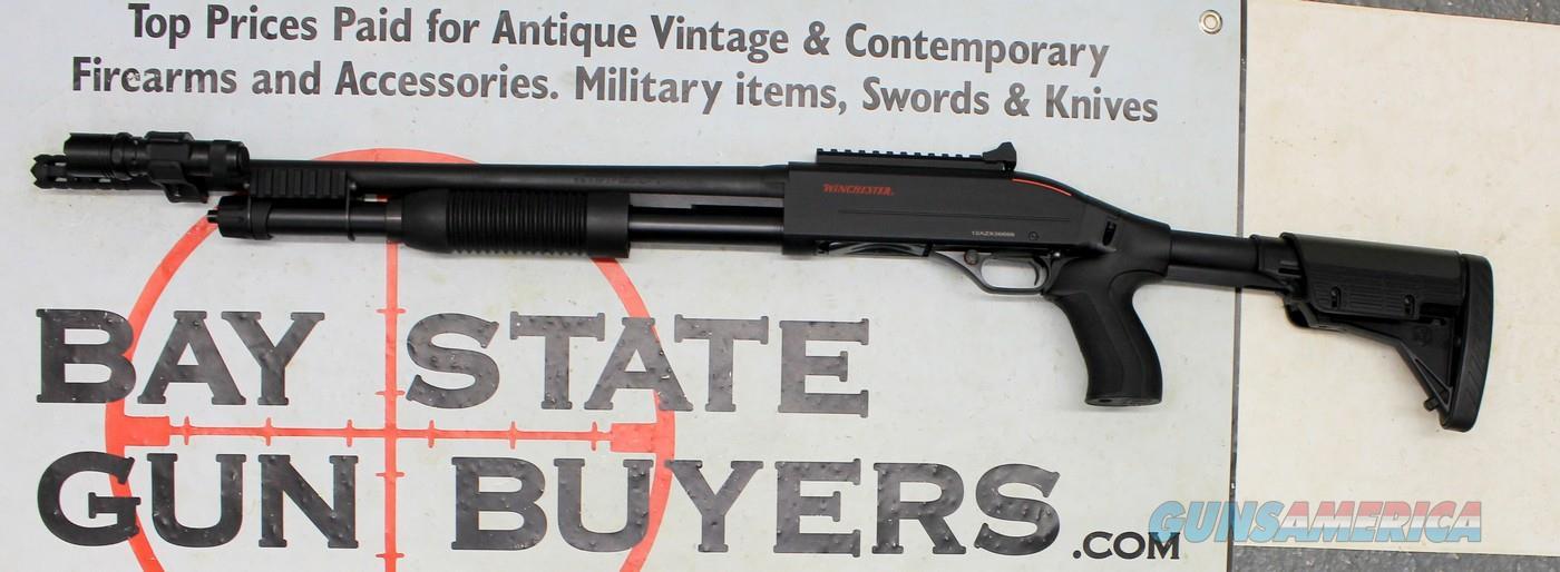 Winchester SXP Extreme Defender Pump Action Shotgun ~ 12Ga. ~ TACTICAL DEFENSE ~ Door Breacher Muzzle ~ FLASHLIGHT   Guns > Shotguns > Winchester Shotguns - Modern > Pump Action > Defense/Tactical