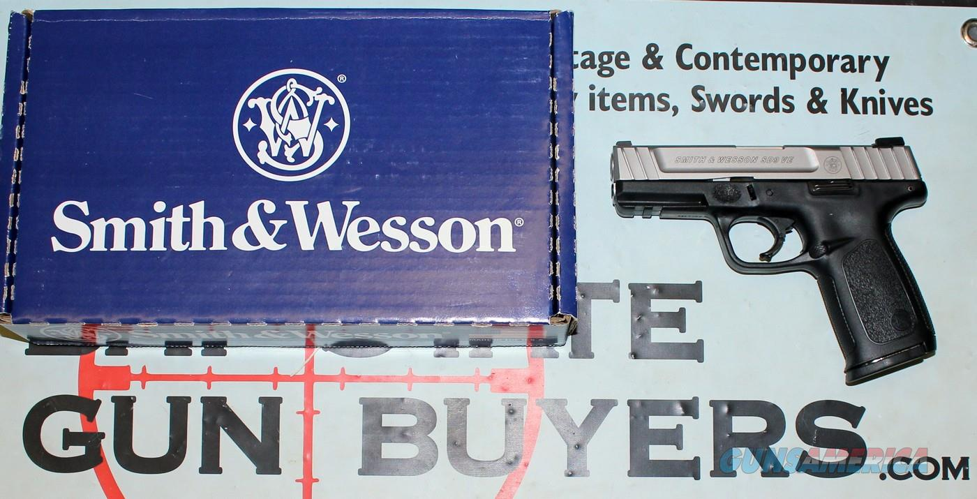 Smith & Wesson SD9 VE semi-automatic pistol 9mm BOX & PAPERS  - -  MASS OK  Guns > Pistols > Smith & Wesson Pistols - Autos > Polymer Frame