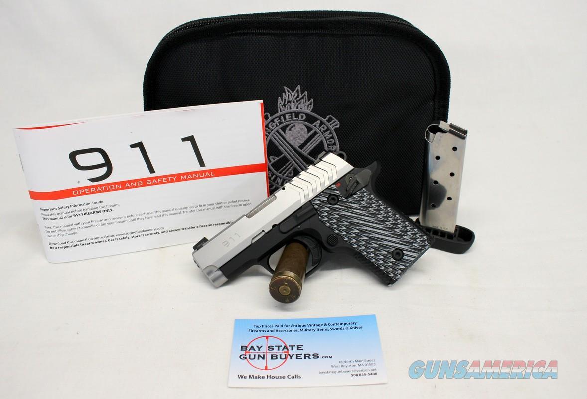 Springfield Armory 911 semi-pistol ~ .380ACP ~ 6rd & 7rd Magazines, Manual & Pouch  Guns > Pistols > Springfield Armory Pistols > 911