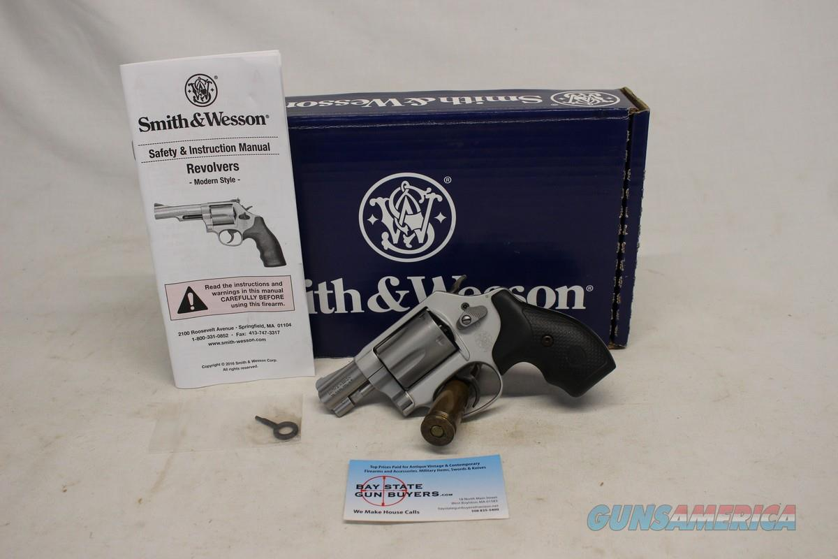 """Smith & Wesson 637-2 AIRWEIGHT revolver ~ .38Spl +P ~ 2"""" Barrel ~ CONCEAL CARRY OPTION  Guns > Pistols > Smith & Wesson Revolvers > Small Frame ( J )"""
