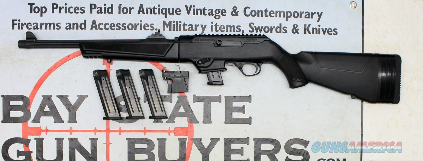 Ruger PC9 Carbine ~ semi-automatic rifle ~ 9mm Luger ~ COMES WITH RUGER & GLOCK MAGWELLS!!  Guns > Rifles > Ruger Rifles > SR Series