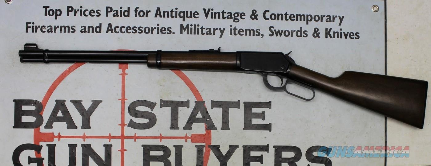 early Winchester Model 9422M lever action rifle ~ .22WMR ~ Uncheckered Version  Guns > Rifles > Winchester Rifles - Modern Lever > Model 94 > Post-64