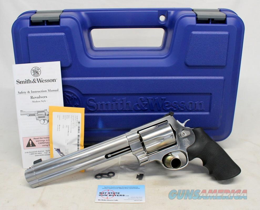"Smith & Wesson MODEL 500 revolver ~ .500 S&W Magnum Caliber ~ 8 3/8"" Barrel ~ BOX & PAPERS  Guns > Pistols > Smith & Wesson Revolvers > Full Frame Revolver"