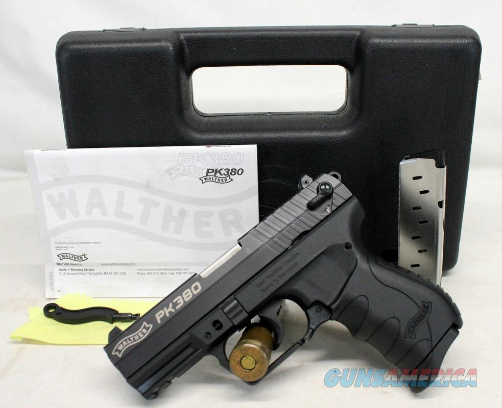 Walther PK380 semi-automatic pistol ~ .380ACP ~ Box, Manual & (2) Magazines ~ EXCELLENT CONDITION  Guns > Pistols > Walther Pistols > Post WWII > PK380
