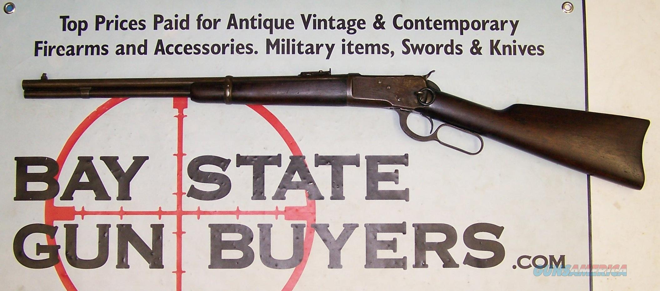 Winchester Model 1892 lever action rifle 25-20 (1922 Manufacture Date) Saddle Ring Carbine  Guns > Rifles > Winchester Rifles - Modern Lever > Other Lever > Pre-64