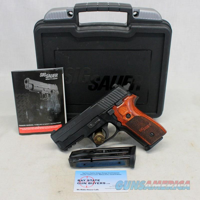 Sig Sauer P229  semi-automatic pistol ~ .9mm ~ Excellent Pre-owned Pistol ~ ROSEWOOD GRIPS  Guns > Pistols > Sig - Sauer/Sigarms Pistols > P229