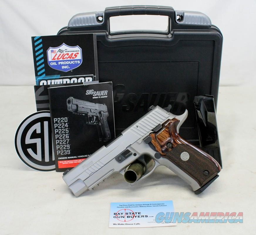 Sig Sauer P226 ELITE semi-automatic pistol ~ 9mm ~ Box, Manual and (2) 10rd Magazines   Guns > Pistols > Sig - Sauer/Sigarms Pistols > P226