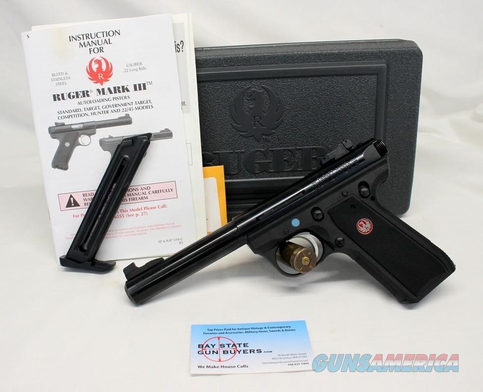 Ruger TARGET MODEL 22/45 MK III semi-automatic pistol ~ .22LR ~ Mags, Manual and Box  Guns > Pistols > Ruger Semi-Auto Pistols > 22/45