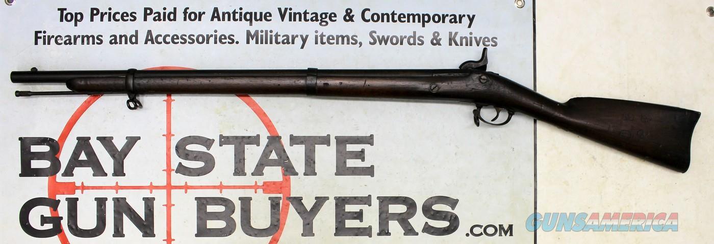 U.S. Springfield Model 1863 BANNERMAN QUAKER RIFLE for CADETS ~ Non-firing Dummy Rifle ~ ANTIQUE  Guns > Rifles > Antique (Pre-1899) Rifles - Perc. Misc.
