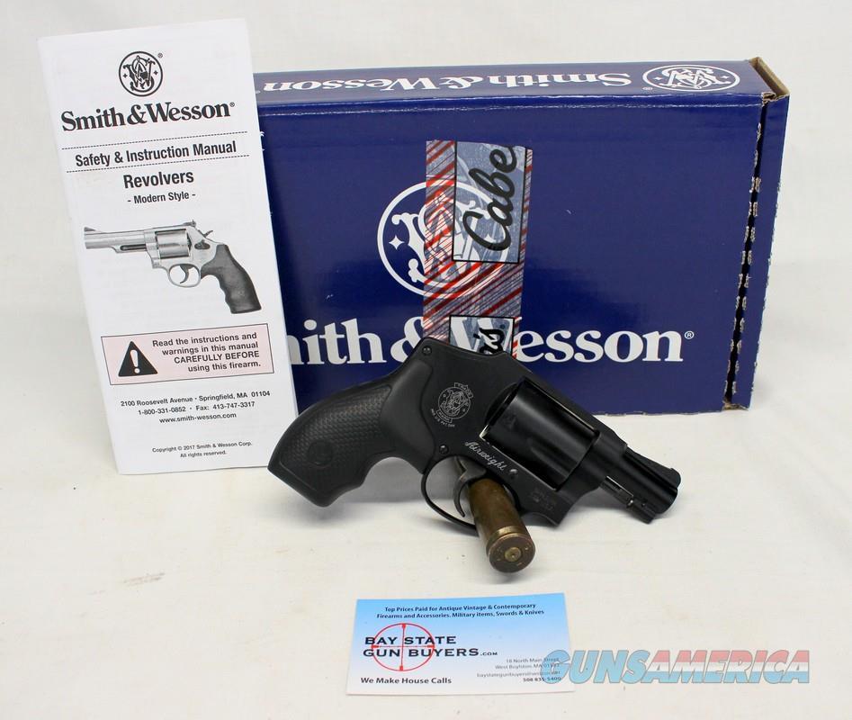 Smith & Wesson Model 442-2 revolver ~ .38SPL +P ~ BOX & Manual  Guns > Pistols > Smith & Wesson Revolvers > Small Frame ( J )