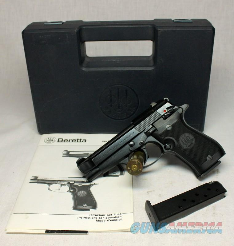 Beretta CHEETAH Model 85F ~ .380acp ~ Black/Black  with BOX & PAPERS  Guns > Pistols > Beretta Pistols > Cheetah Series > Model 85