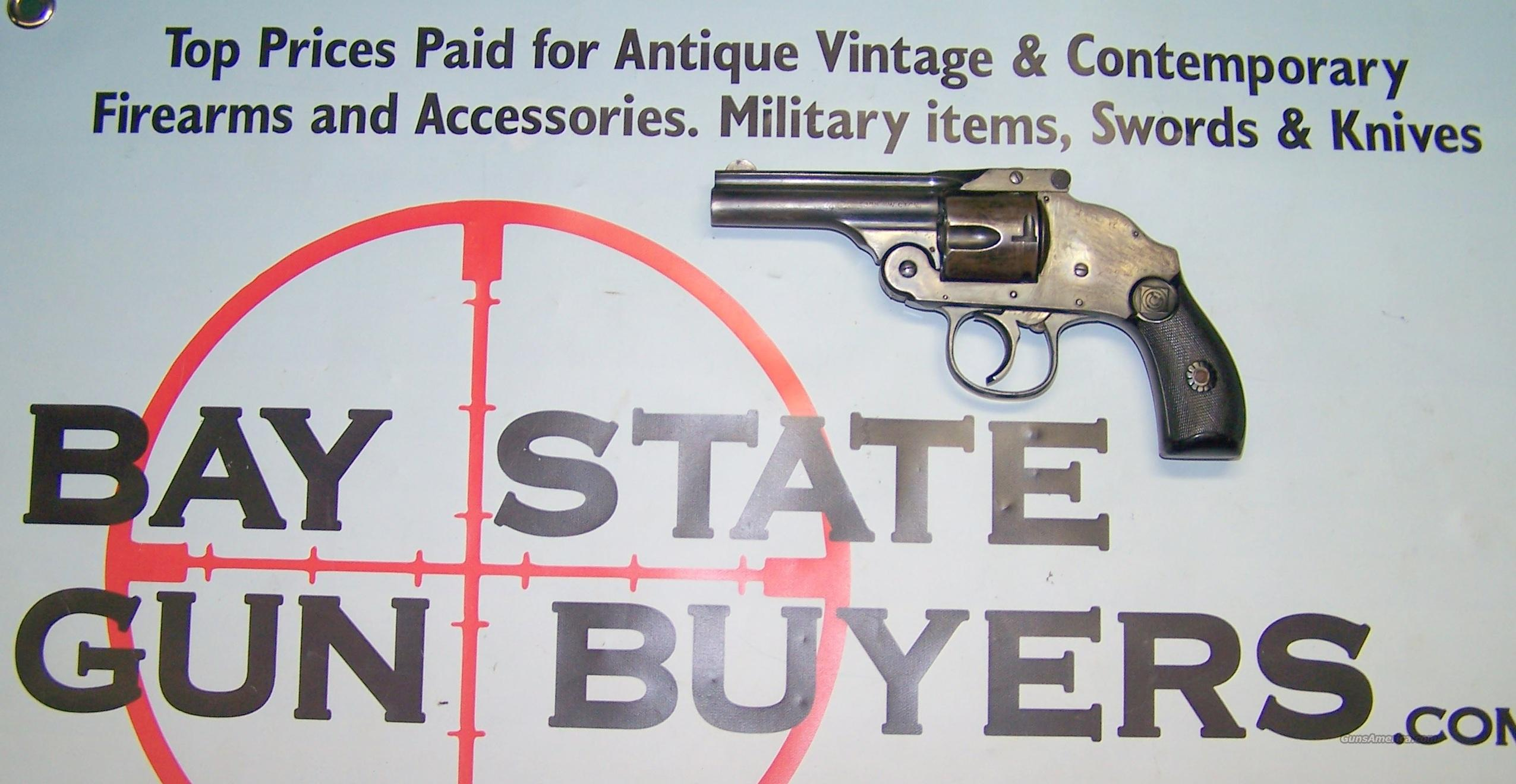 H&R Top Break Revolver .38 S&W HAMMERLESS Harrington Richardson  Guns > Pistols > Harrington & Richardson Pistols