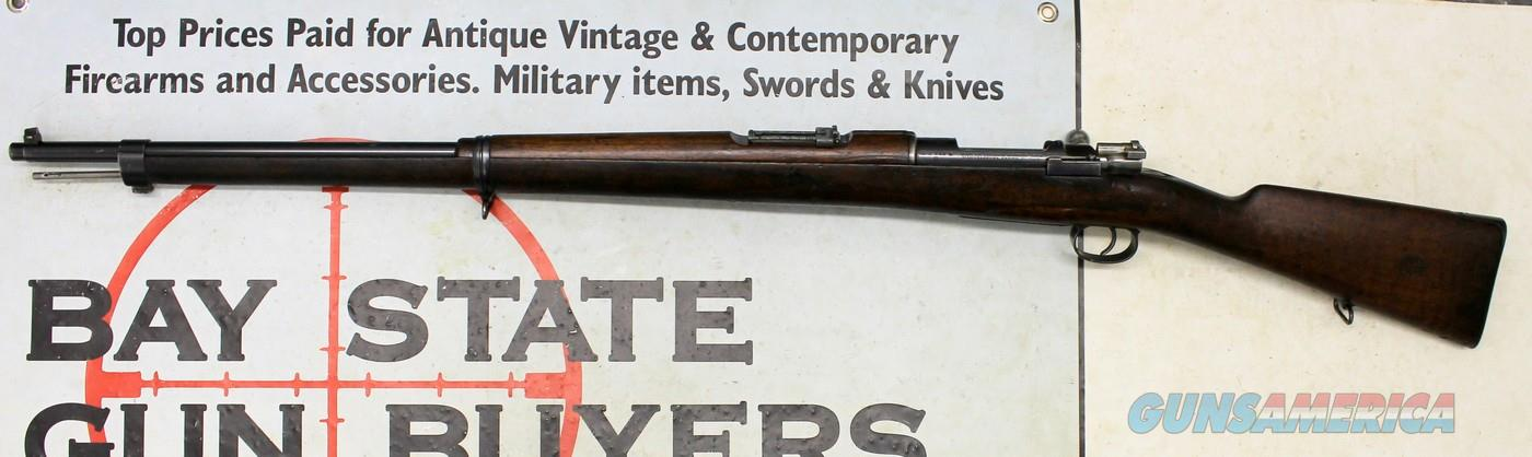 Chilean Mauser MODEL 1895 (LOEWE Berlin) Bolt Action Rifle ~ 7x57mm Mauser ~ MATCHING #s  Guns > Rifles > Mauser Rifles > German
