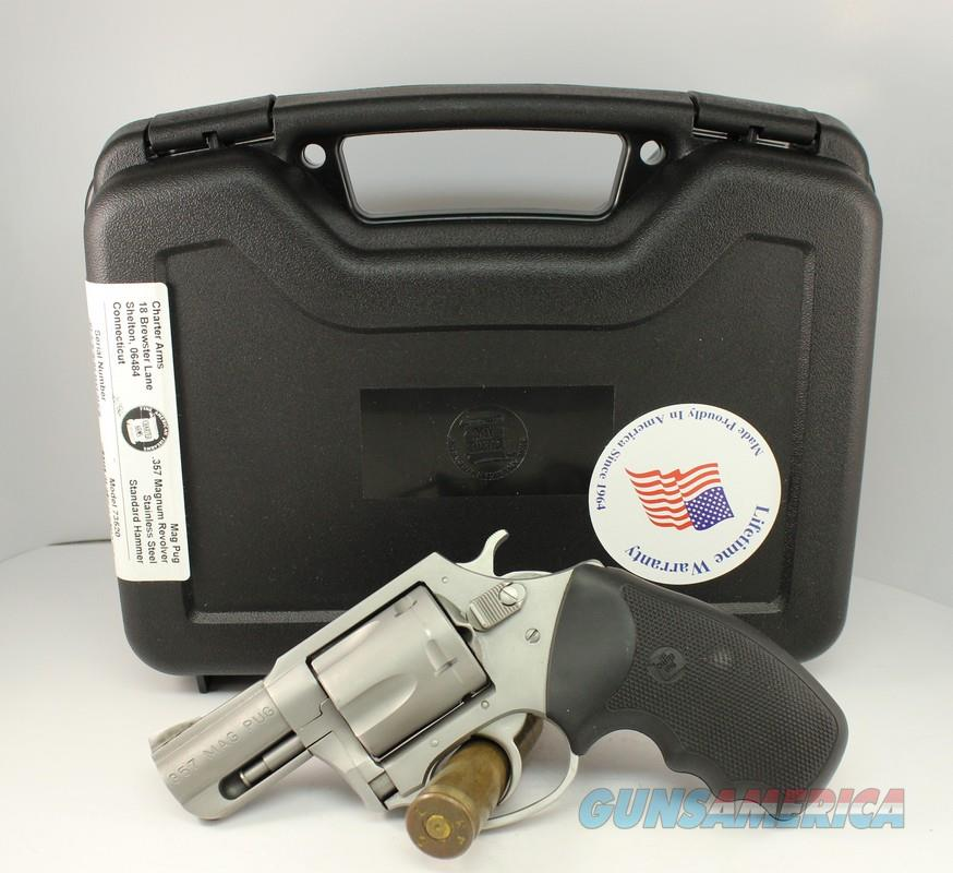 Charter Arms MAG PUG .357 revovler PORTED BARREL Like New in Box  Guns > Pistols > Charter Arms Revolvers