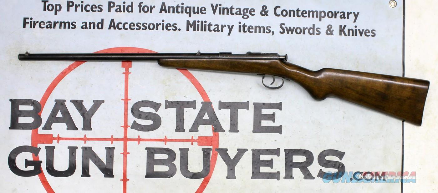 GERMAN Boys Rifle ~ J.G. Anschutz KARABINER Single Shot Rifle ~ Bolt Action 6mm FLOBERT ~ 1920's C&R  Guns > Rifles > IJ Misc Rifles