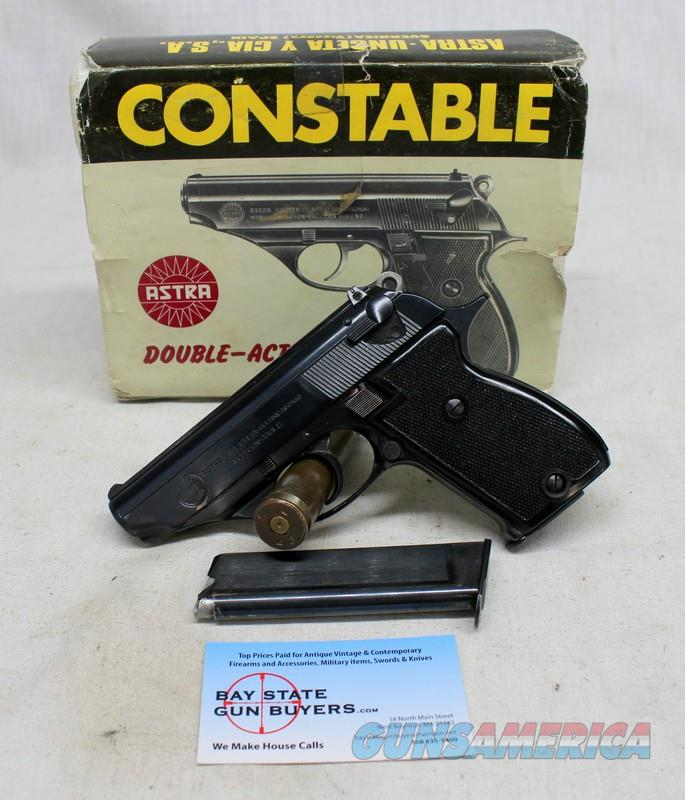 Astra CONSTABLE Semi-automatic Double Action Revolver ~ .22LR ~ ORIGINAL BOX  Guns > Pistols > Astra Pistols