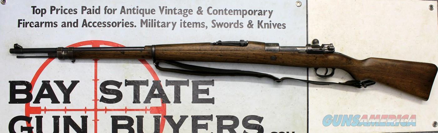 BRAZILIAN Mauser Model 1908 bolt action rifle ~ 7mm ~ DWM (Loewe) ~ Brazil Contract  Guns > Rifles > Mauser Rifles > German
