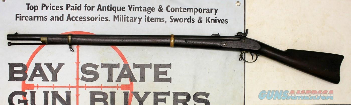Remington Model 1863 ZOUAVE Percussion Rifle ~ CIVIL WAR ~ .58 Caliber ~ BARN FIND  Guns > Rifles > Antique (Pre-1899) Rifles - Perc. Misc.