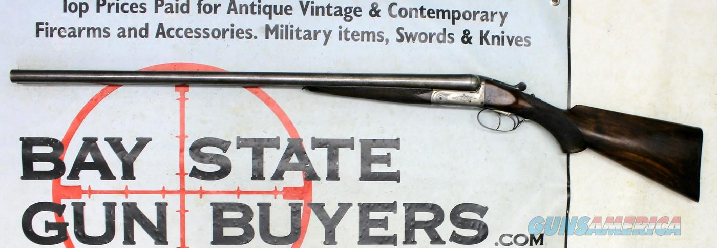 AUGUSTE FRANCOTTE SxS Break Action Shotgun ~ 12 Ga. ~ DAMASCUS TWIST BARRELS ~ Engraved Receiver   Guns > Shotguns > Francotte Shotguns