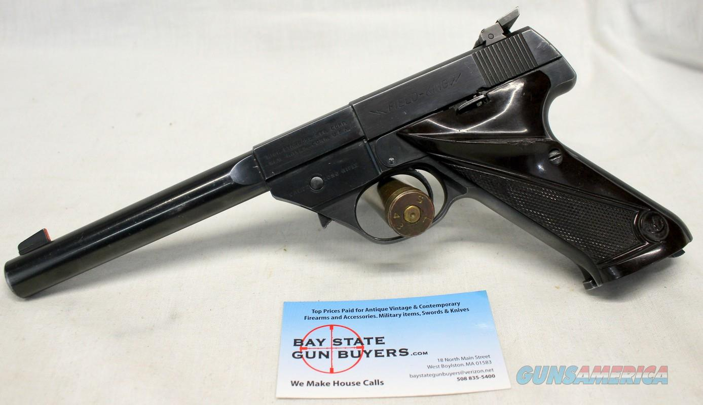 High Standard FIELD KING semi-automatic pistol ~ .22LR  ~ GREAT SHOOTER! ~ Hi-Standard  Guns > Pistols > High Standard Pistols