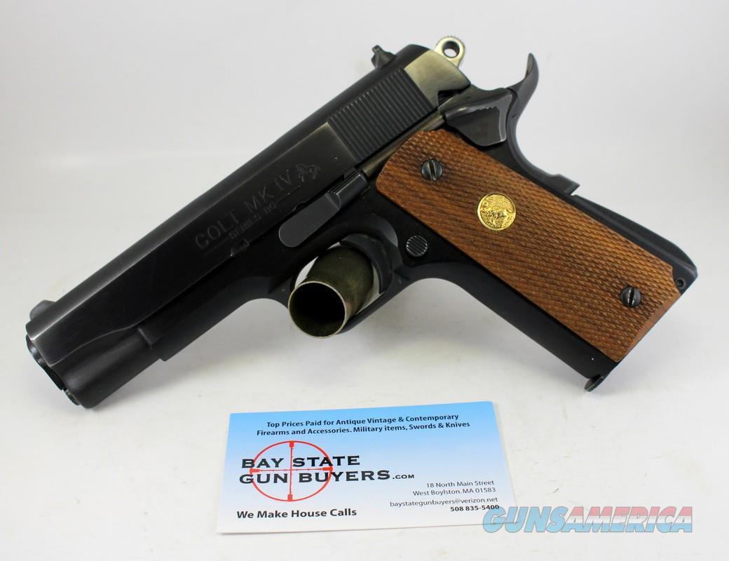 Colt MKIV Series 80 LIGHTWEIGHT COMMANDER semi-automatic pistol ~ .45ACP   Guns > Pistols > Colt Automatic Pistols (1911 & Var)
