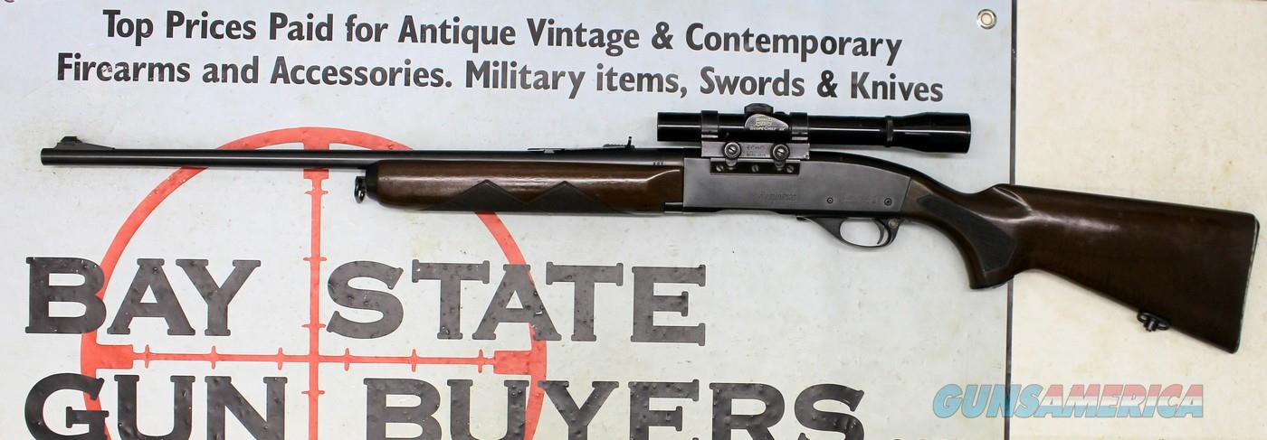 Remington Woodsmaster Model 740 semi-auto rifle ~ .30-06 ~  Bushnell Scopechief 3X  Guns > Rifles > Remington Rifles - Modern > Model 700 > Sporting