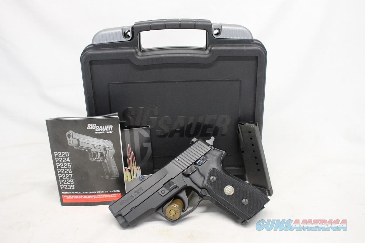 "Sig Sauer P225A Classic semi-automatic pistol ~ 9mm ~ 4"" Barrel ~ BOX, MANUAL & (2) MAGAZINES  ~ Like New!  Guns > Pistols > Sig - Sauer/Sigarms Pistols > Other"