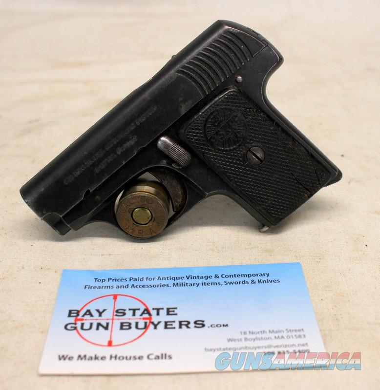 "ASTRA Model 1916 Pocket Pistol ~ .25ACP (6.35mm) ~ COLLECTIBLE ""HOPE"" SPANISH PISTOL  Guns > Pistols > Astra Pistols"