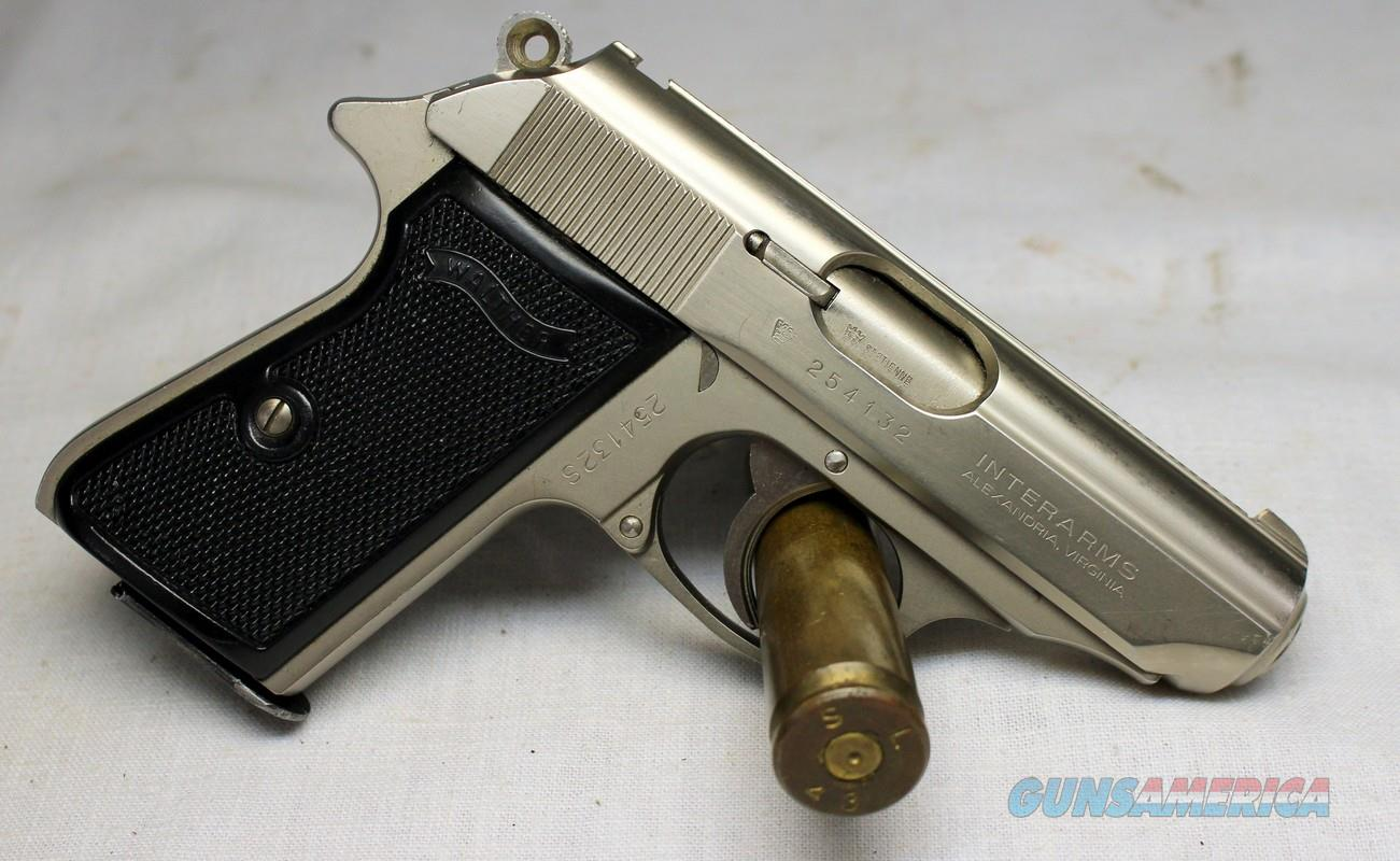 WALTHER PPK/S semi-automatic pistol ~ .380acp ~ INTERARMS (Made in France)  Guns > Pistols > Walther Pistols > Post WWII > PPK Series