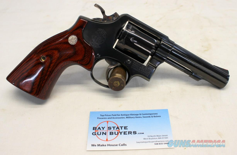 Smith & Wesson Model 10-6 Revolver .38Spl ~ SUPER CLEAN HIGH CONDITION  Guns > Pistols > Smith & Wesson Revolvers > Med. Frame ( K/L )