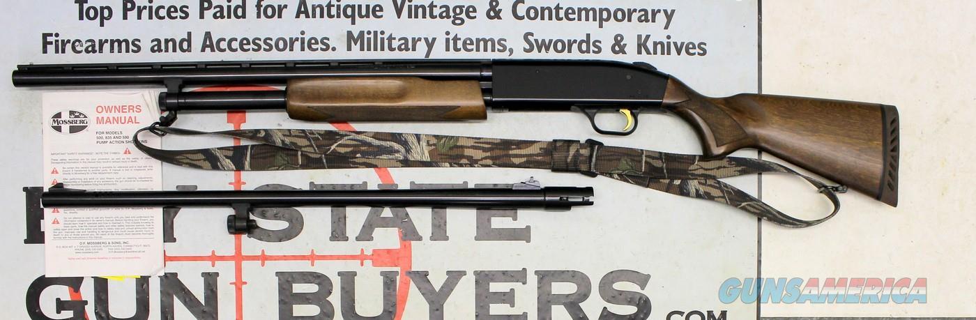 Mossberg 500 20G ~ (2) Barrel Set ~ VENTED RIB / RIFLED SLUG ~ Original Box & Manual  Guns > Shotguns > Mossberg Shotguns > Pump > Sporting