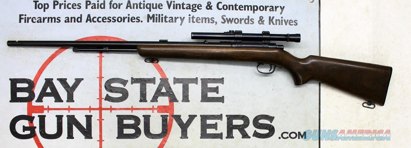 Winchester Model 72A tube-fed bolt action rifle ~ .22 S, L, LR ~ Weaver B4 Scope  Guns > Rifles > Winchester Rifles - Modern Bolt/Auto/Single > Other Bolt Action