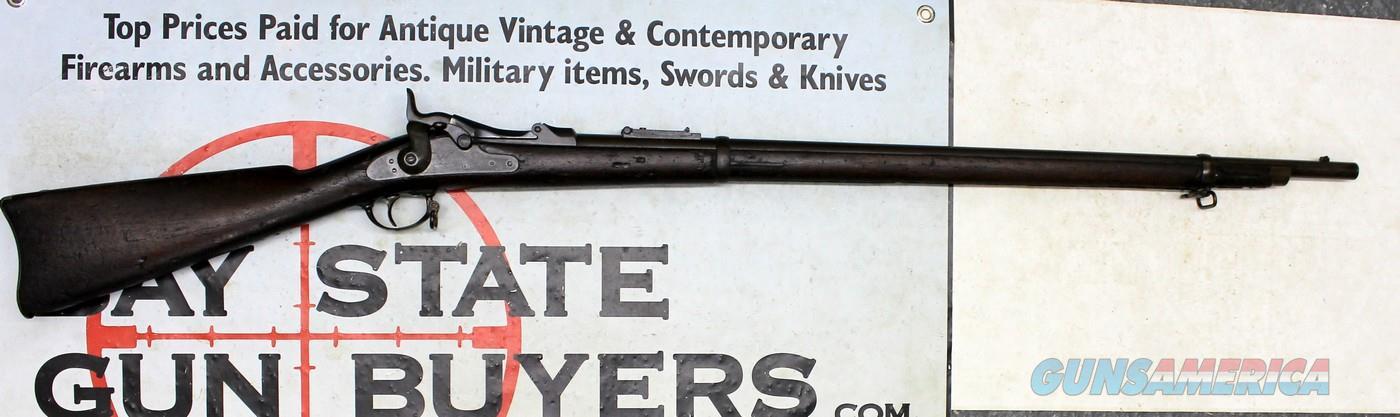 antique US Springfield MODEL 1873 TRAPDOOR Rifle ~ .45-70 Cal ~ ORIGINAL UNRESTORED CONDITION  Guns > Rifles > Antique (Pre-1899) Rifles - Ctg. Misc.